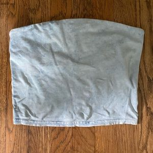Urban outfitters strapless top
